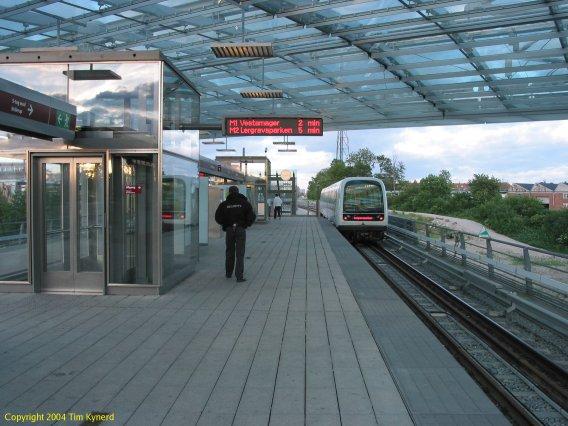 flintholm station metro